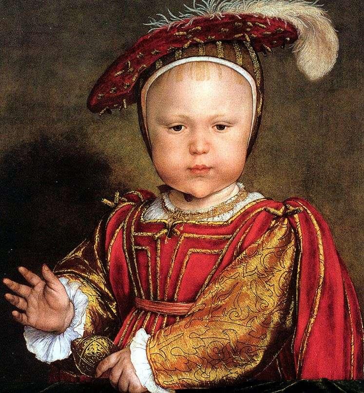 Edward, príncipe de Gales   Hans Holbein (más joven)