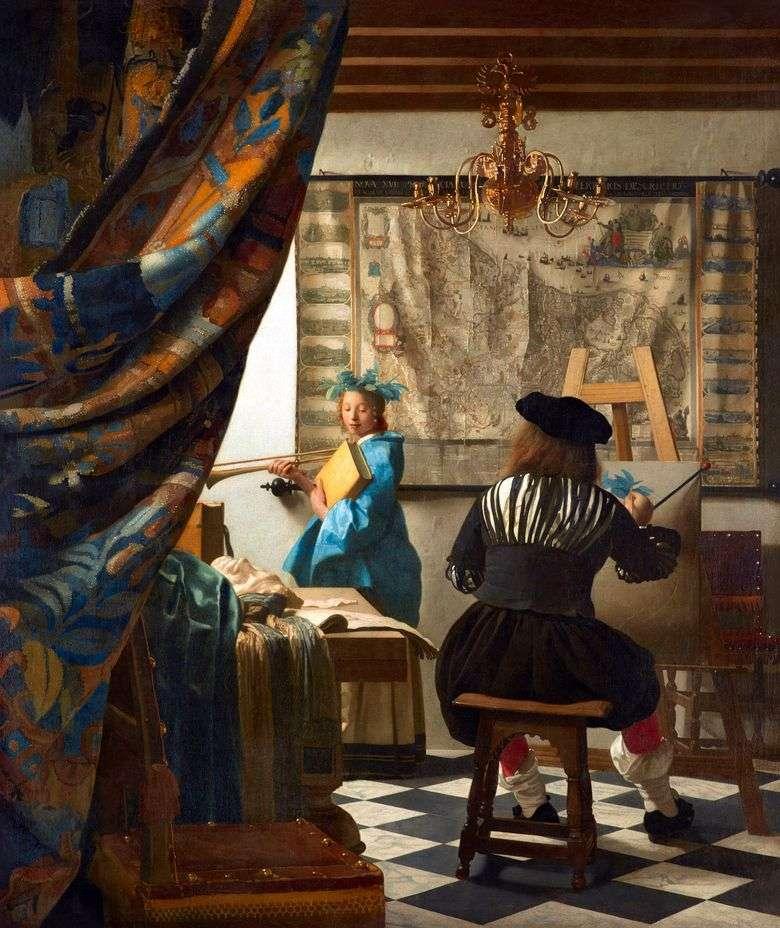 El arte de pintar   Jan Vermeer