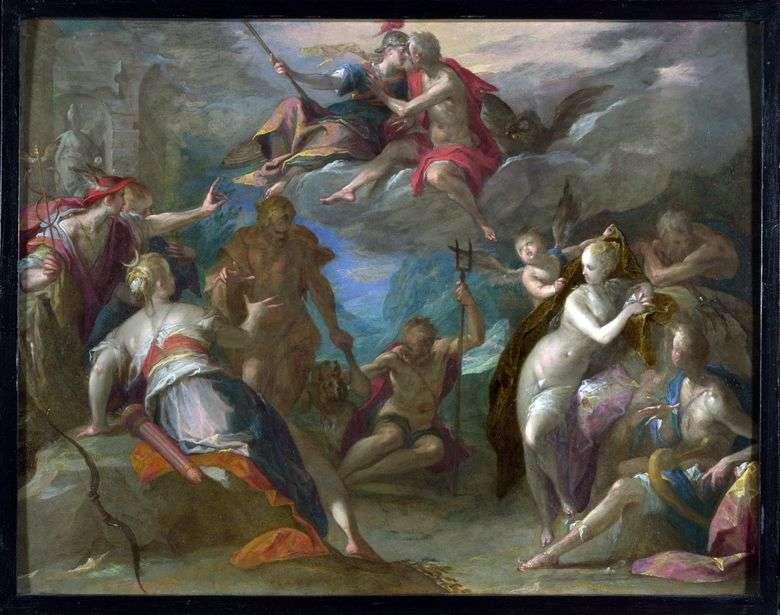 El asombro de los dioses   Hans von Aachen
