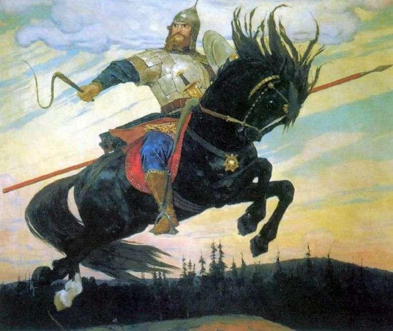 El Bogatyrsky Skok   Viktor Vasnetsov