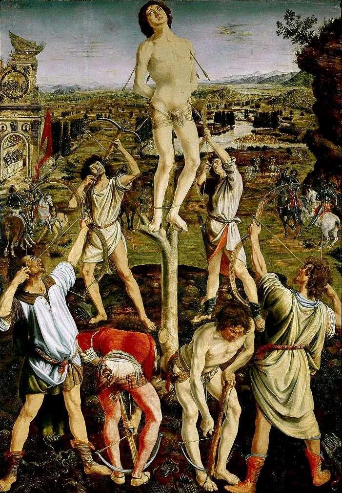El martirio de San Sebastián   Antonio del Pollaiolo