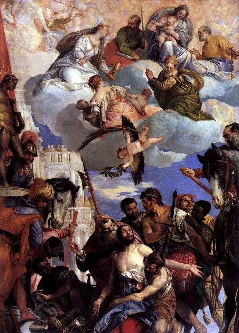 El sacrificio de San Jorge   Paolo Veronese