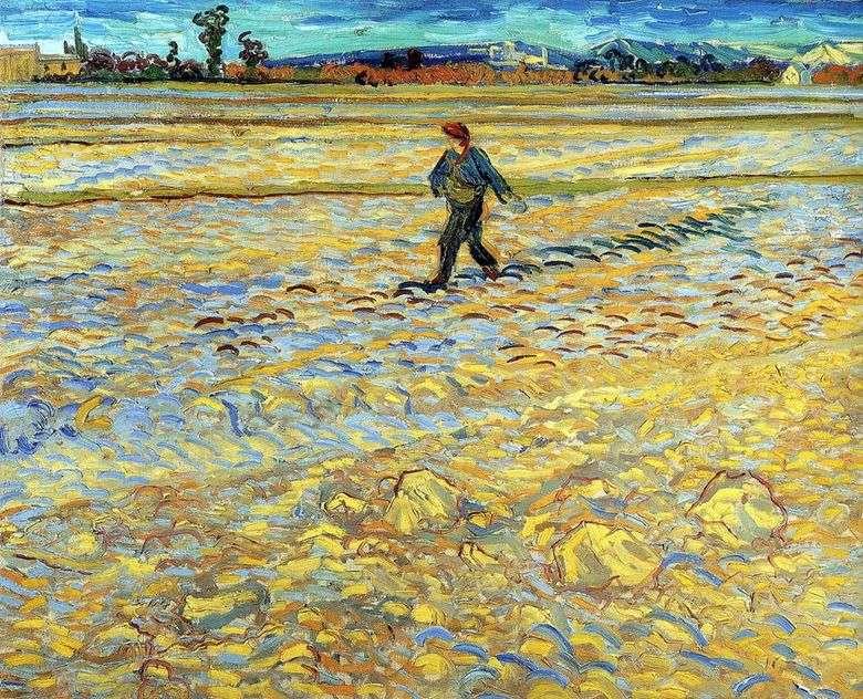El Sembrador   Vincent Van Gogh