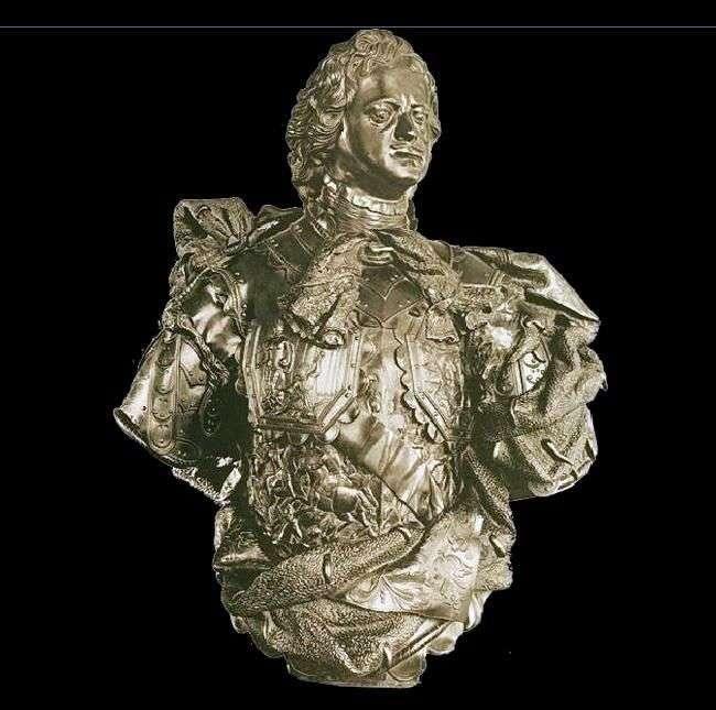 El solemne busto de Pedro I