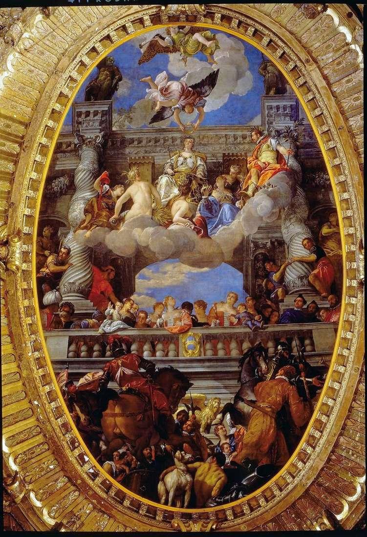El triunfo de Venecia   Paolo Veronese