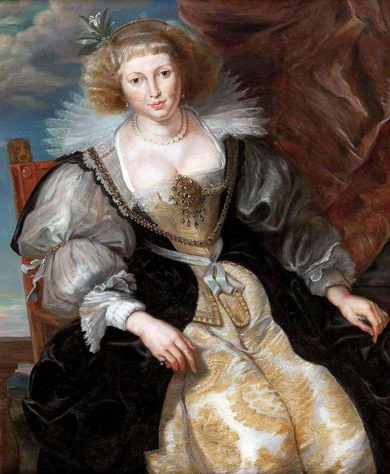 Elena Fourment en un vestido de novia   Peter Rubens