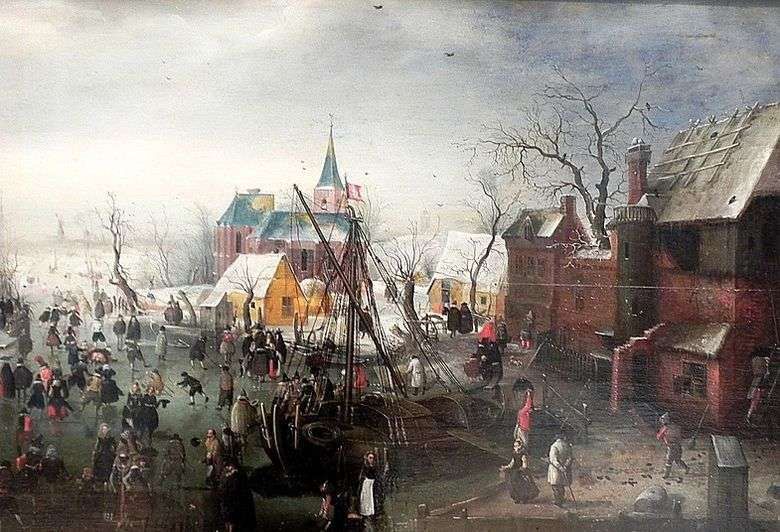 En invierno en Eiselmayden   Hendrik Averkamp