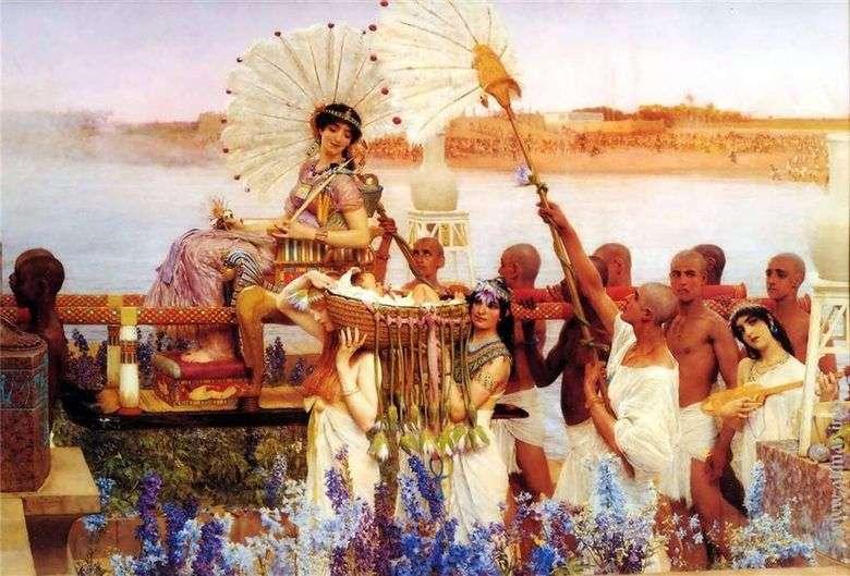 Encontrar a Moisés   Lawrence Alma Tadema
