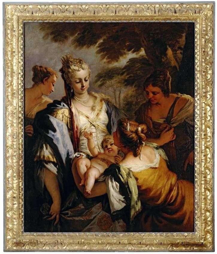 Entregar al bebé Moses   Sebastiano Ricci