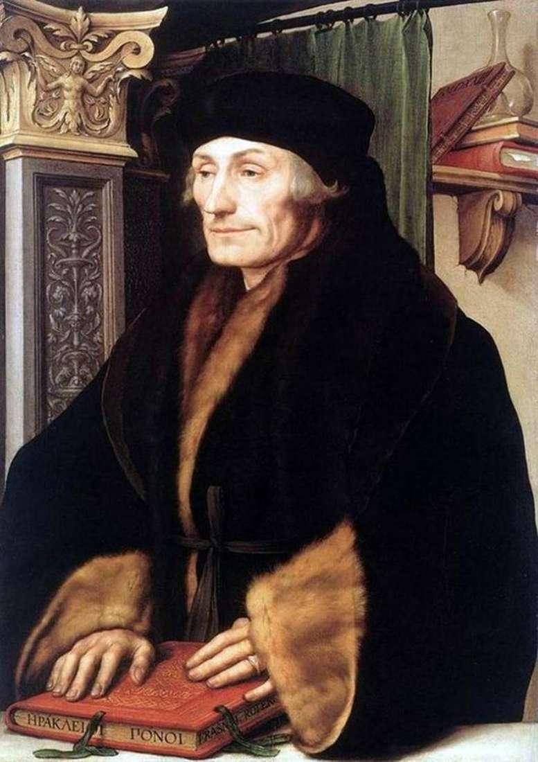 Erasmus Rotterdam   Hans Holbein