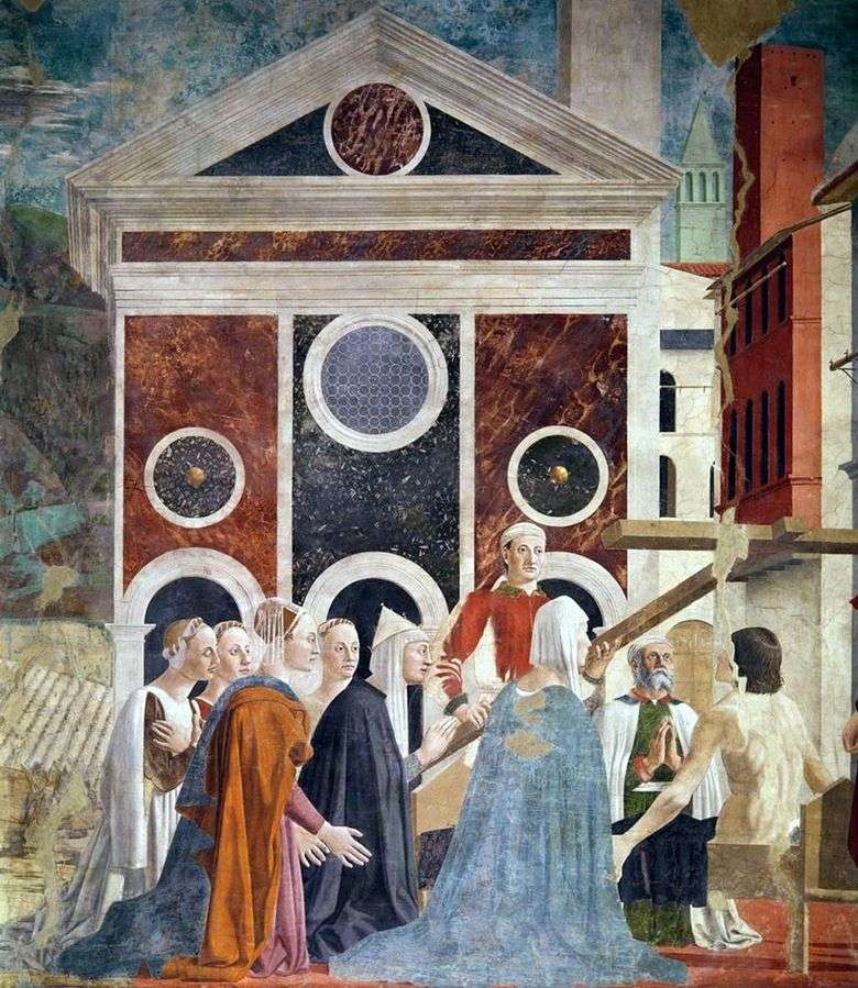 Exaltación de la Santa Cruz   Piero della Francesca