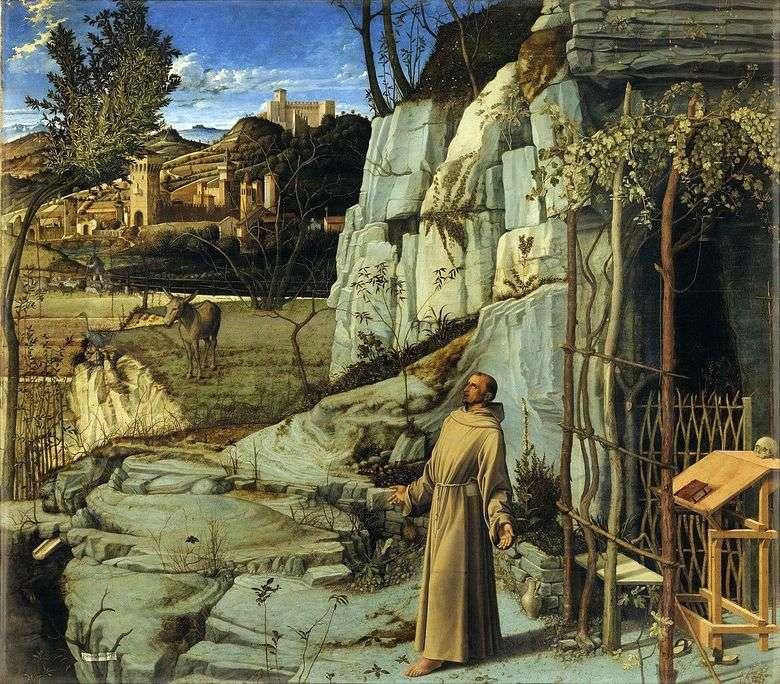Éxtasis de San Francisco   Giovanni Bellini