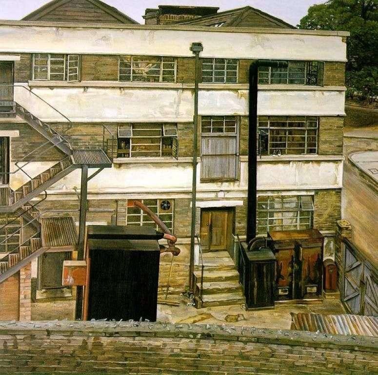 Fábrica de Londres   Lucien Freud