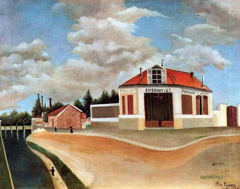 Fábrica de muebles en Alfortville   Henri Rousseau