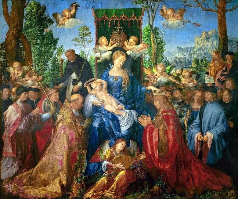 Fiesta del Altar del Rosario   Albrecht Durer