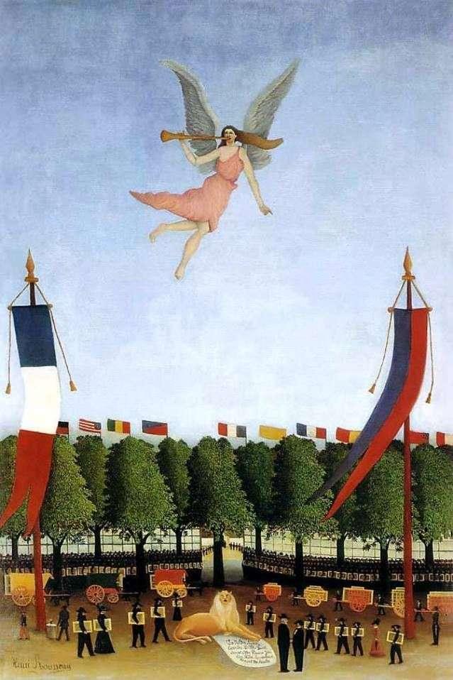 Freedom invita a los artistas a participar en el XXII Salón Independiente   Henri Rousseau