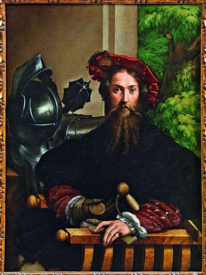 Galeazzo Sanvital, Príncipe Fontanelato   Francesco Parmigianino
