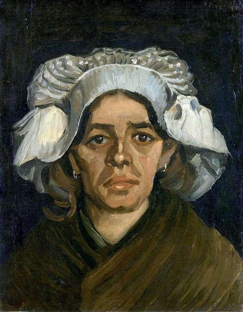 Gordina de Groot, retrato   Vincent van Gogh