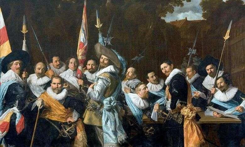 Gremio de flechas de sv. Adriana   Frans Hals