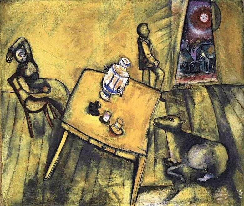 Habitación Amarilla   Marc Chagall