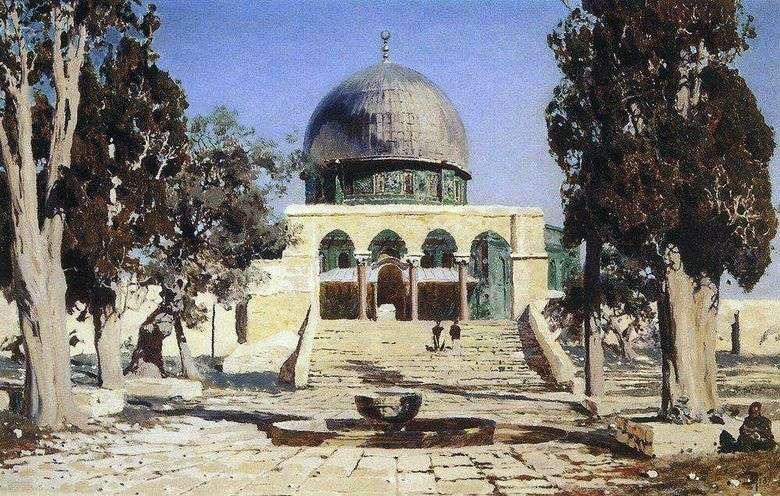 Haram Ash Sheriff   la plaza donde se ubicaba el antiguo templo de Jerusalén   Vasily Polenov