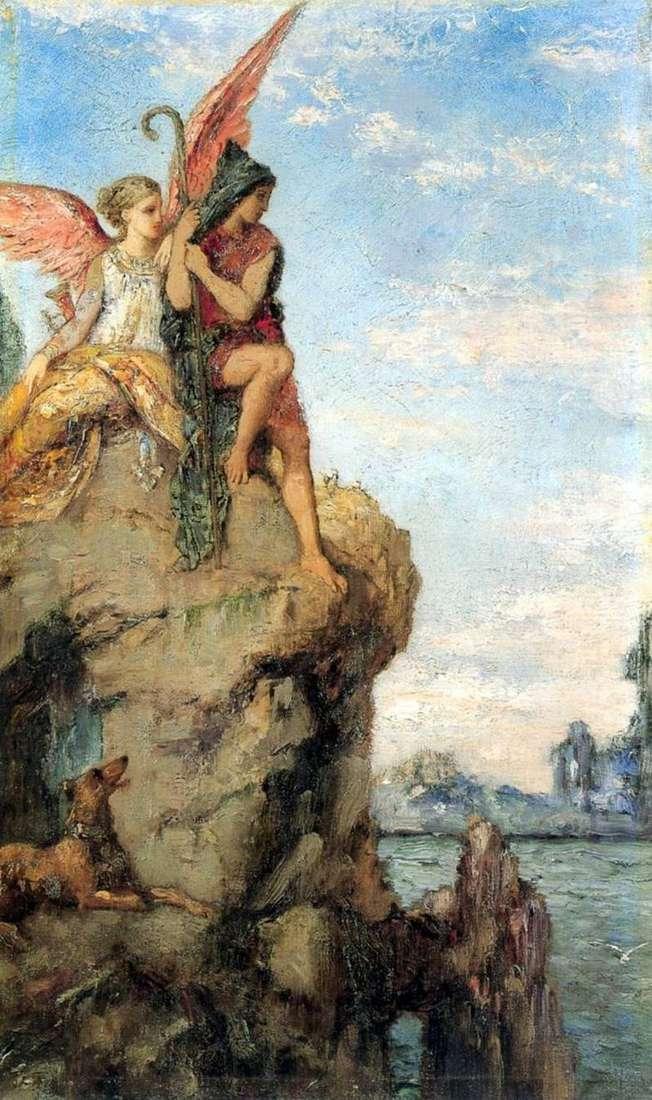Hesíodo y musa   Gustave Moreau