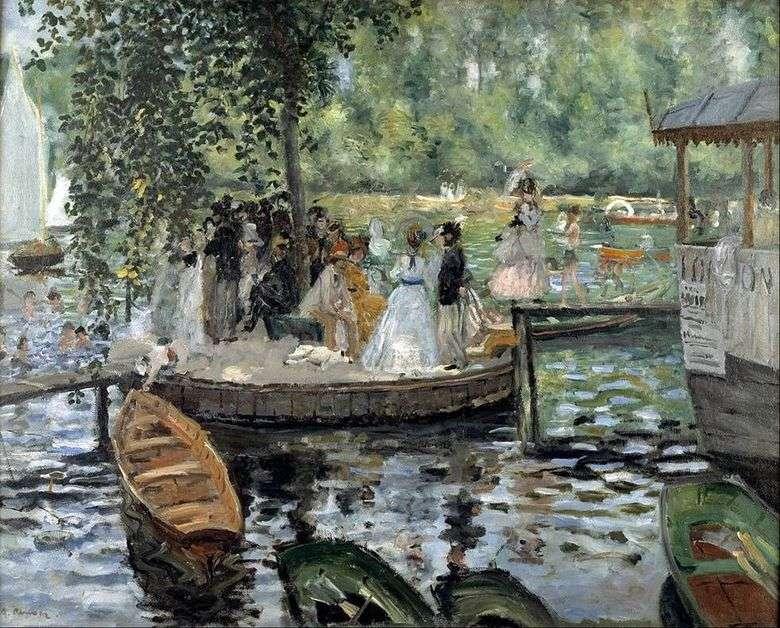 Hombre Rana   Pierre Auguste Renoir