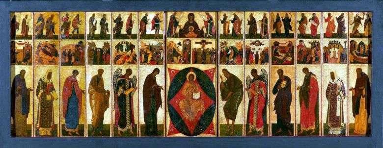 Iconostasio de la Catedral de la Asunción en Vladimir Chin Festive   Andrei Rublev