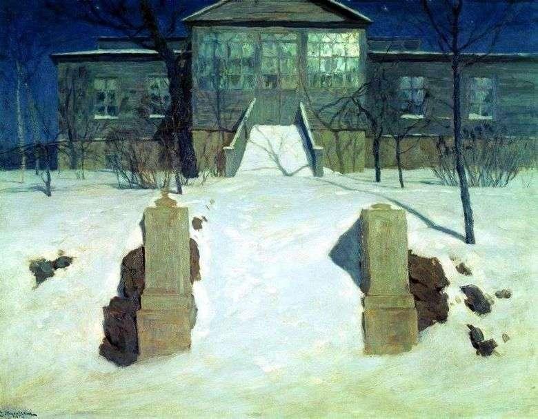 Noche de luna llena   Stanislav Zhukovsky
