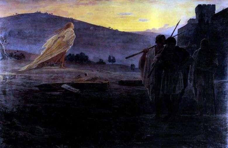 Mensajeros de la Resurrección   Nikolai Ge