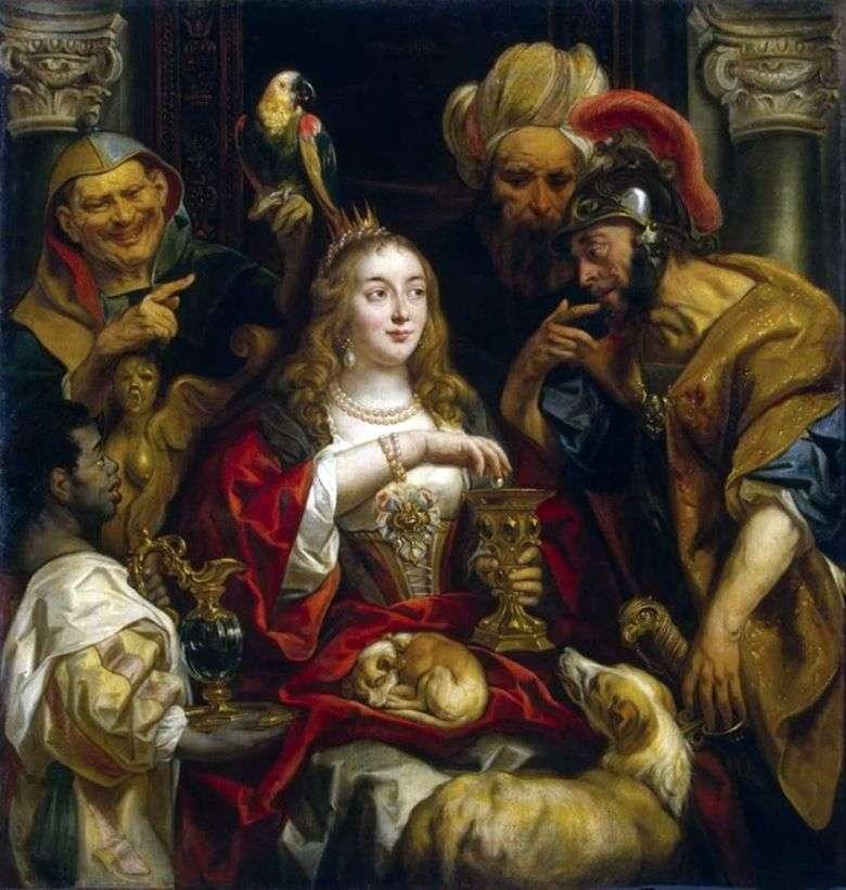 Fiesta de Cleopatra   Jacob Jordaens