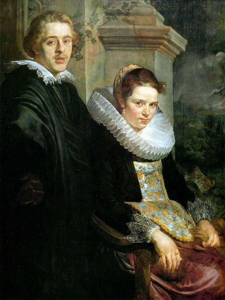 Retrato de una joven pareja   Jacob Jordaens