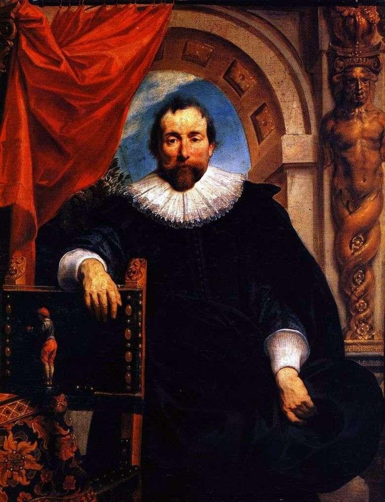Retrato de Rutger Le Wheeter   Jacob Jordaens
