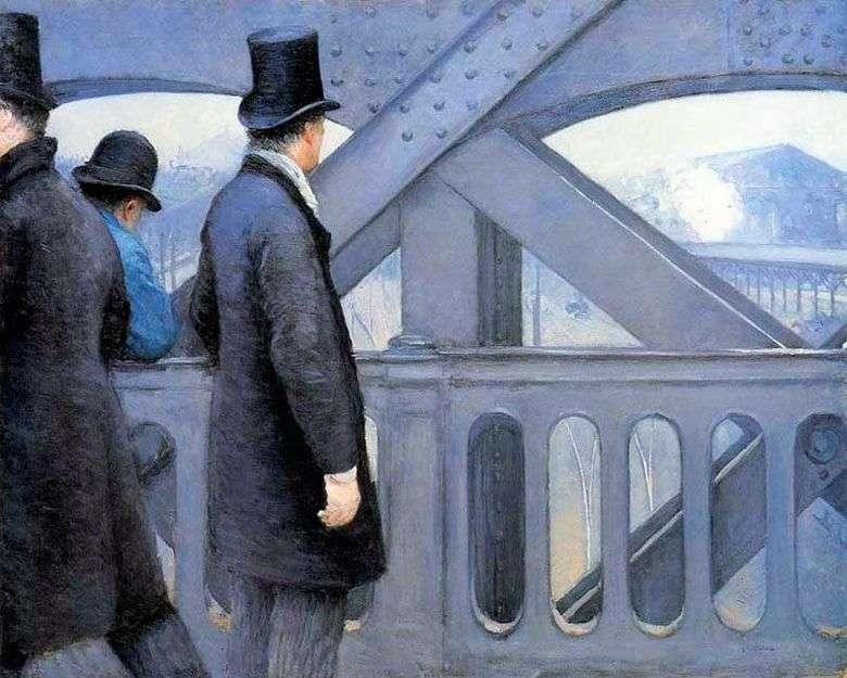 En el puente de Europa   Gustave Caibotte