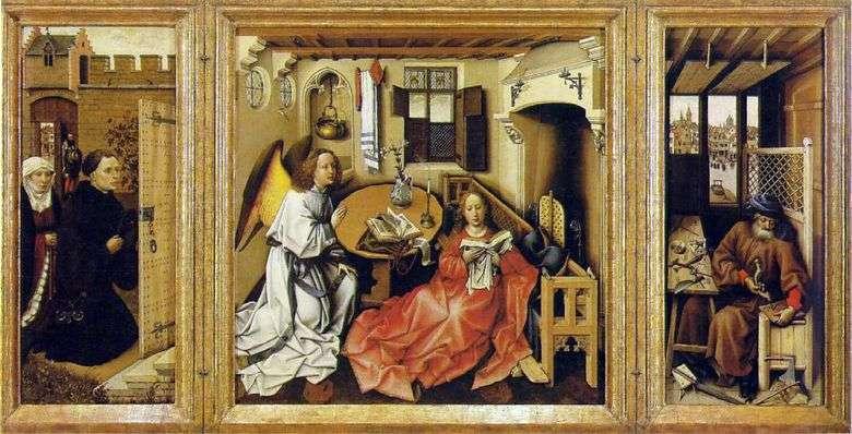 La Anunciación (Altar Merode)   Robert Kampen