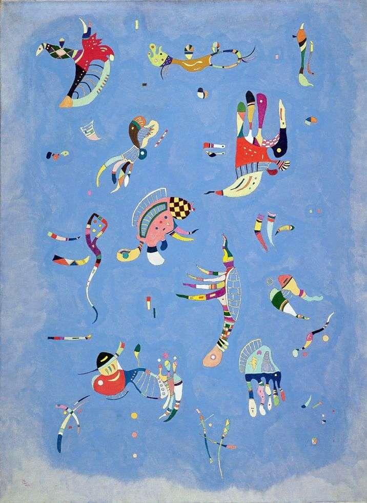 Cielo azul   Wassily Kandinsky