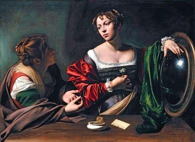 Marta y María Magdalena   Michelangelo Merisi da Caravaggio