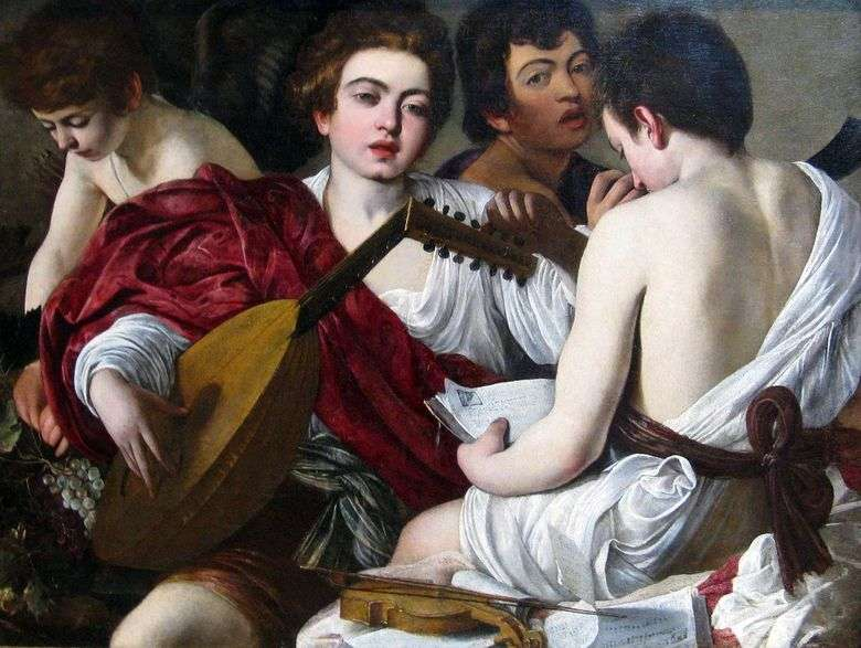 Músicos   Michelangelo Merisi da Caravaggio