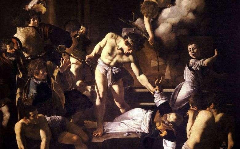 El martirio de San Mateo   Miguel Ángel Merisi da Caravaggio