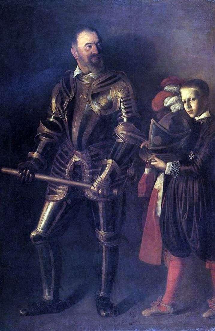 Retrato de Alof de Vignacura   Michelangelo Merisi da Caravaggio