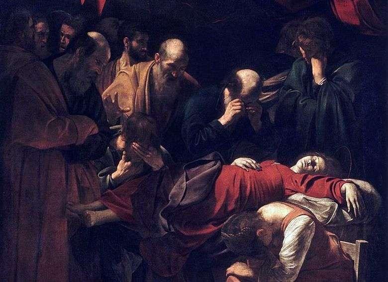 La muerte de María   Michelangelo Merisi da Caravaggio