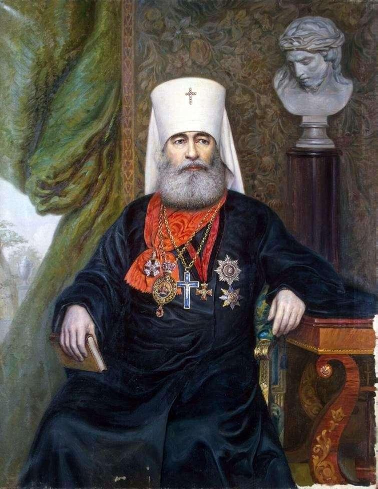 Retrato del metropolitano Anthony   A. A. Karelin