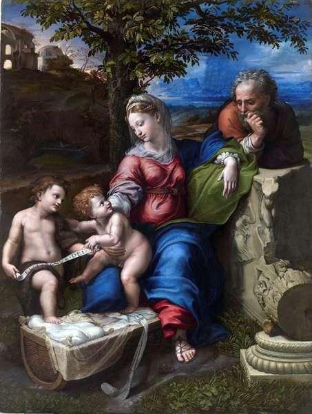Sagrada Familia Bajo el Roble   Rafael Santi