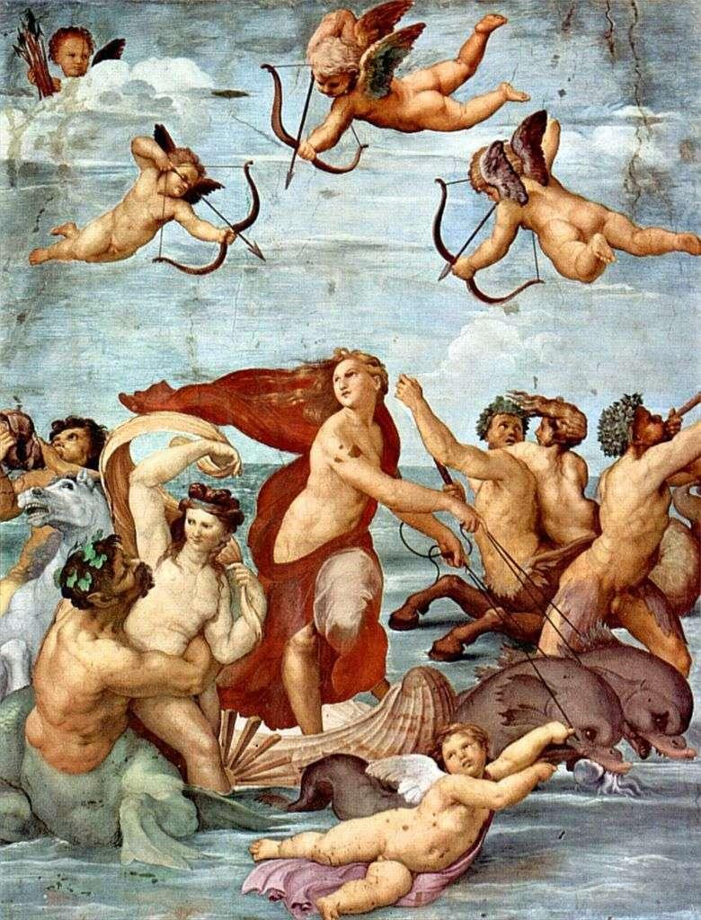 Triunfo de Galatea (fresco)   Rafael Santi