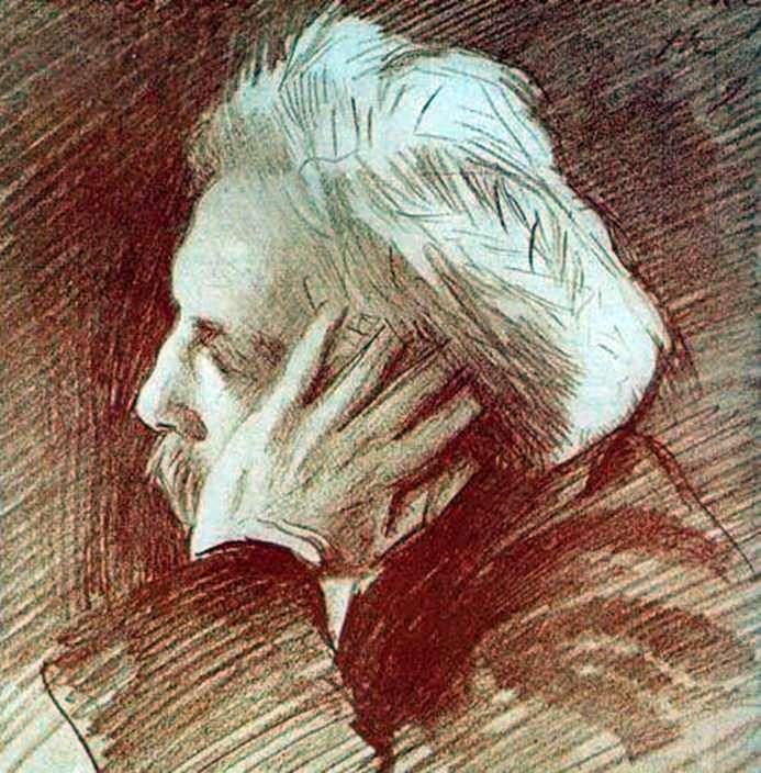 Retrato de Gabriel Faure   John Sargent