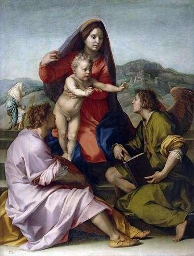 Madonna della Scala   Andrea del Sarto