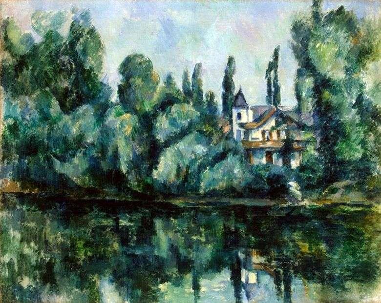Costa de Marne   Paul Cézanne