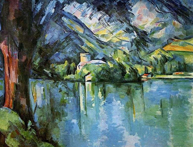 Mar en Annecy   Paul Cézanne