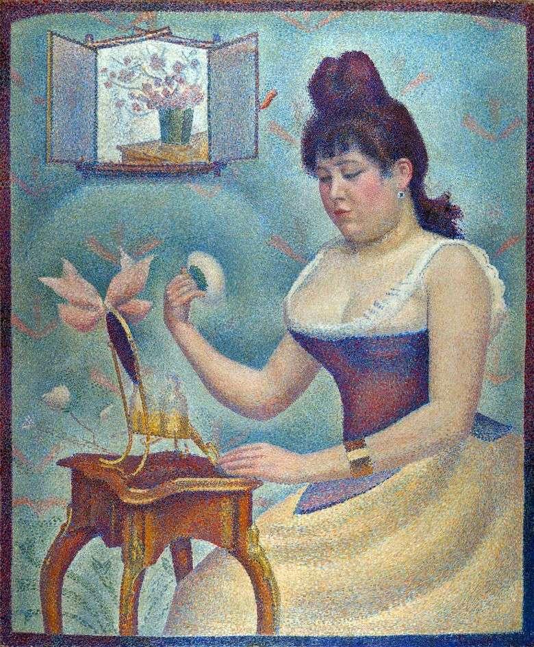 Mujer Effing   Georges Cera