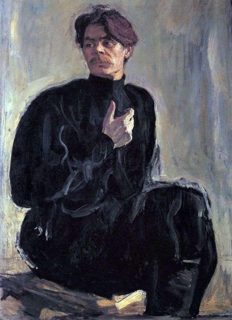 Retrato de A. M. Gorky   Valentin Serov